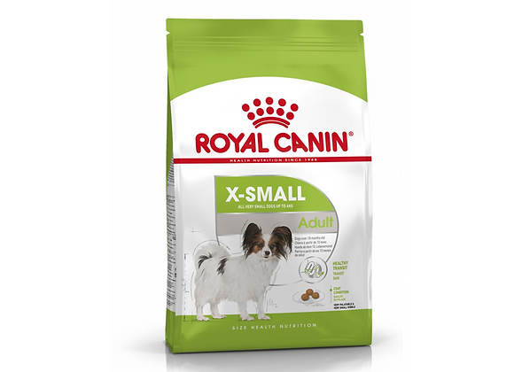 CROQUETTES CHIEN ROYAL CANIN® X-SMALL ADULT 1.5KG