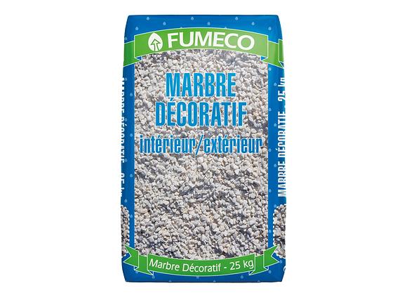 MARBRE DÉCORATIF BLANC 8/16 FUMECO® - 25KG