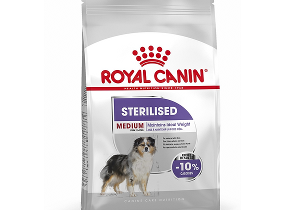 CROQUETTES CHIEN ROYAL CANIN® MEDIUM STERILISED ADULT - 10KG
