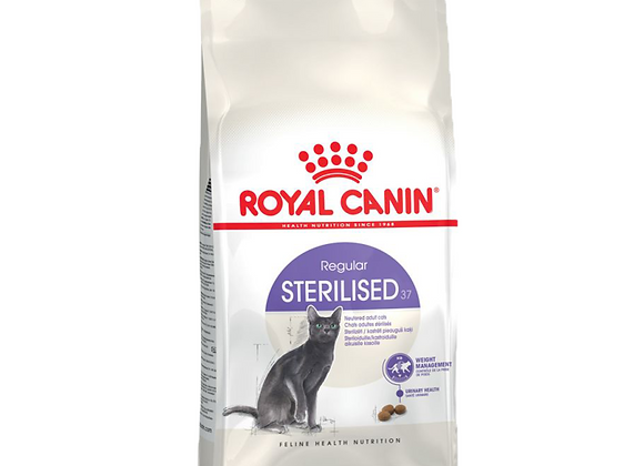 CROQUETTES POUR CHAT ROYAL CANIN® REGULAR 'STERILISED 37' 10KG