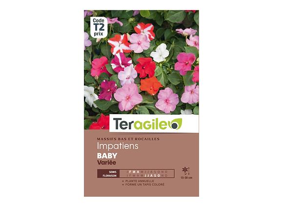 GRAINES IMPATIENS BABY VARIÉE 0.20G TERAGILE®