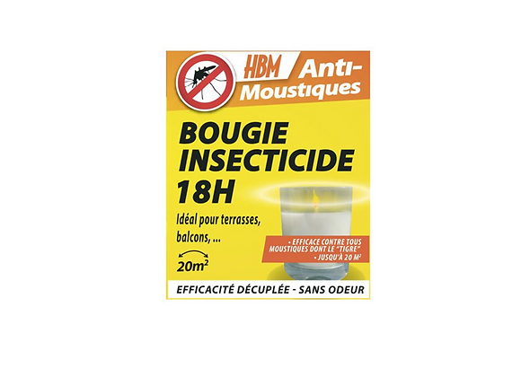 BOUGIES INSECTICIDE 18H HBM