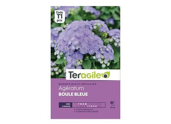 GRAINES AGÉRATUM BOULE BLEUE MAUVE 0.5G TERAGILE®