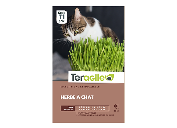 GRAINES HERBE À CHAT 10G TERAGILE®
