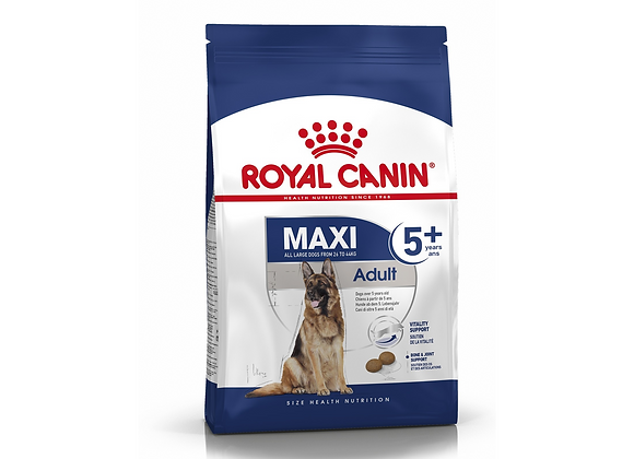 CROQUETTES CHIEN ROYAL CANIN® MAXI ADULT 5+ - 4KG