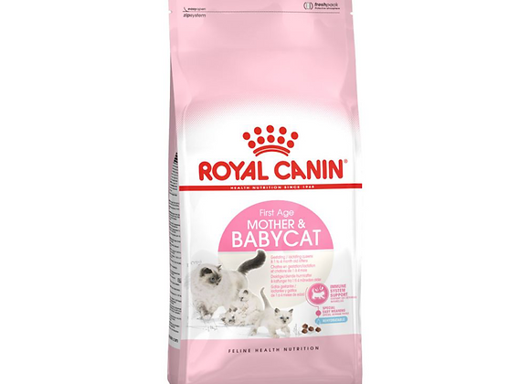 CROQUETTES CHATON ET CHATTE ROYAL CANIN® MOTHER & BABYCAT - 4KG