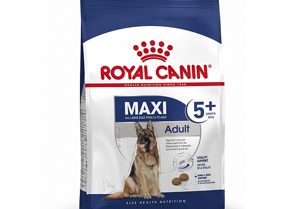 CROQUETTES CHIEN ROYAL CANIN® MAXI ADULT 5+ - 15KG