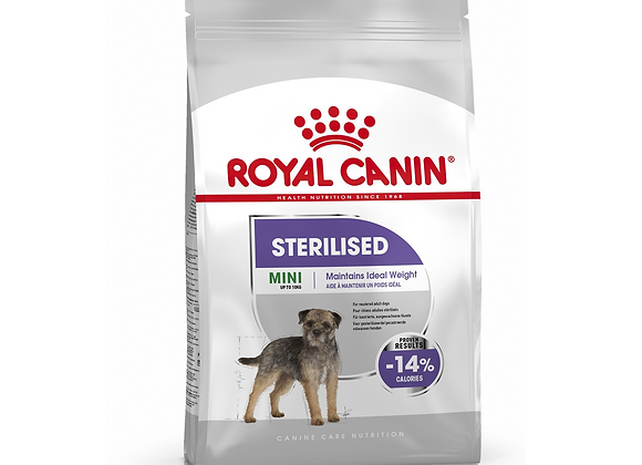 CROQUETTES CHIEN ROYAL CANIN® MINI STERILISED ADULT - 3KG