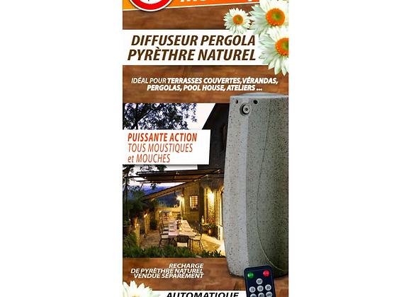 DIFFUSEUR PERGOLA PYRÈTHRE VÉGÉTAL HBM