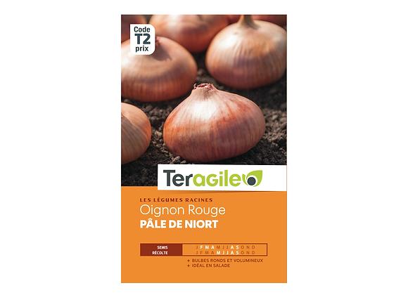 GRAINES OIGNON ROUGE PÂLE DE NIORT 5G TERAGILE®
