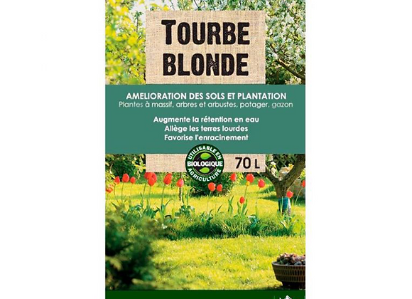TOURBE BLONDE 0/40MM 70L