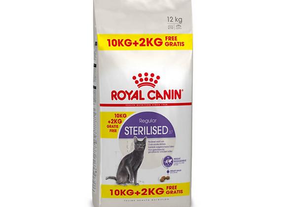 CROQUETTES CHAT ROYAL CANIN® STERILISED 37 REGULAR - 10KG +2KG
