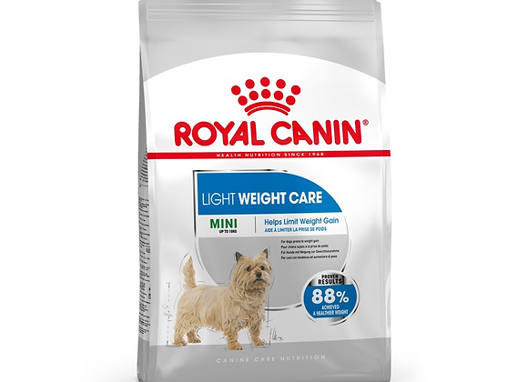 CROQUETTES CHIEN ROYAL CANIN® MINI LIGHT WEIGHT CARE - 8KG
