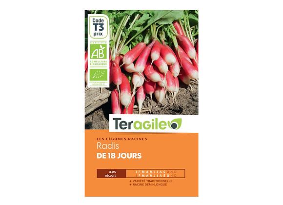 GRAINES RADIS DE 18 JOURS BIO 5G TERAGILE®