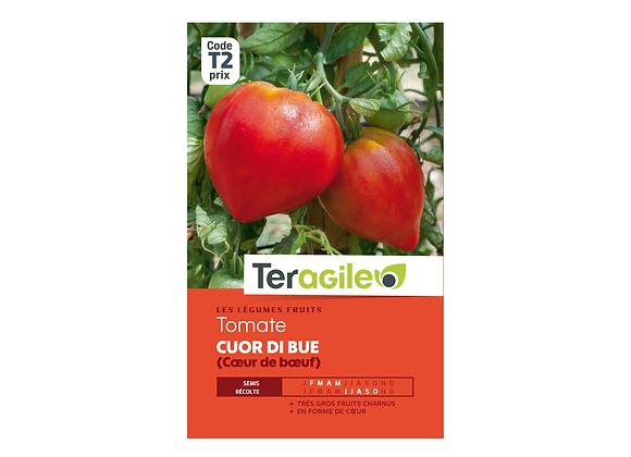 GRAINES TOMATE COEUR DE BOEUF (CUOR DI BUE) TERAGILE®