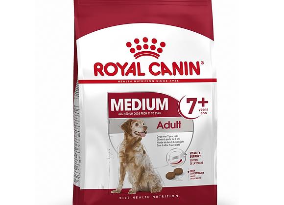 CROQUETTES CHIEN ROYAL CANIN® MEDIUM ADULT 7+ - 15KG