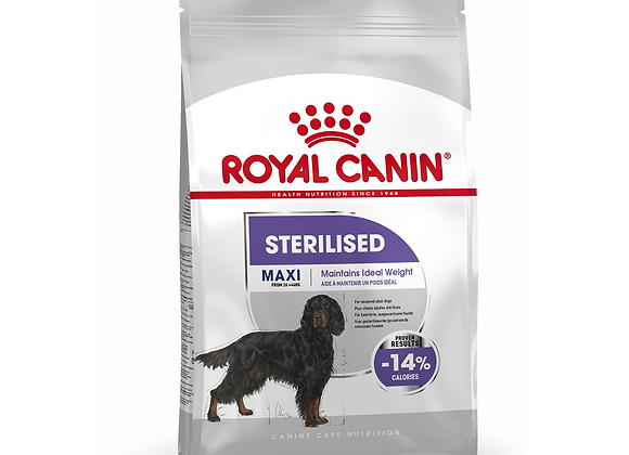 CROQUETTES CHIEN ROYAL CANIN® MAXI STERILISED ADULT - 9KG
