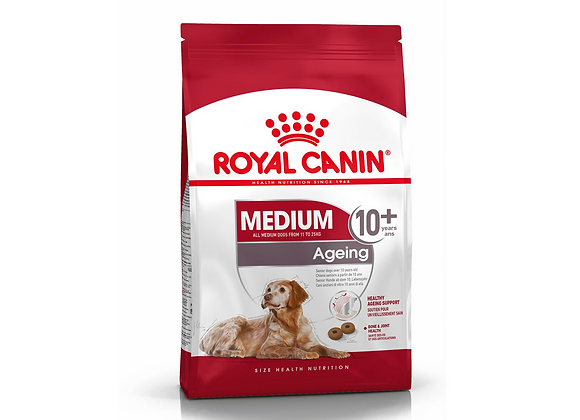 CROQUETTES CHIEN ROYAL CANIN® MEDIUM AGEING 10+ - 3KG