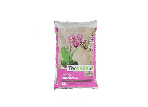 TERREAU ORCHIDEES 5L TERAGILE