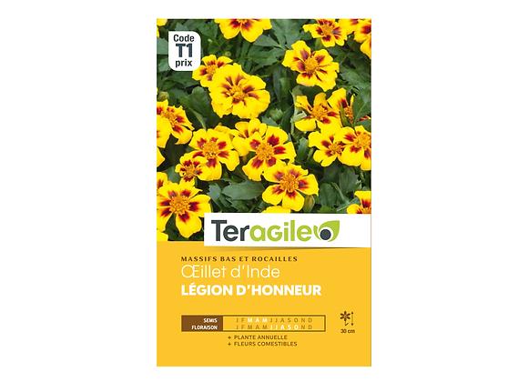 GRAINES OEILLET D'INDE LÉGION D'HONNEUR 1G TERAGILE®