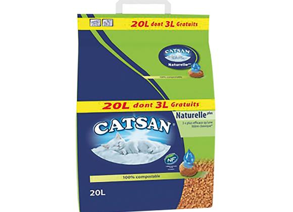 LITIÈRE NATURELLE PLUS CATSAN® 20L