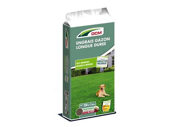 ENGRAIS GAZON LONGUE DURÉE DCM® - 10KG