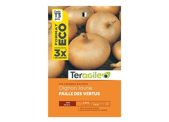 GRAINES OIGNON JAUNE PAILLE DES VERTUS ECO 15G TERAGILE®