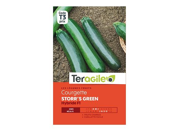 GRAINES COURGETTE STORR'S GREEN HYBRIDE F1 3G TERAGILE®
