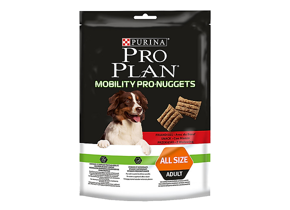 FRIANDISE CHIEN PURINA® PRO PLAN® MOBILITY PRO-NUGGETS ADULT BOEUF - 300GR