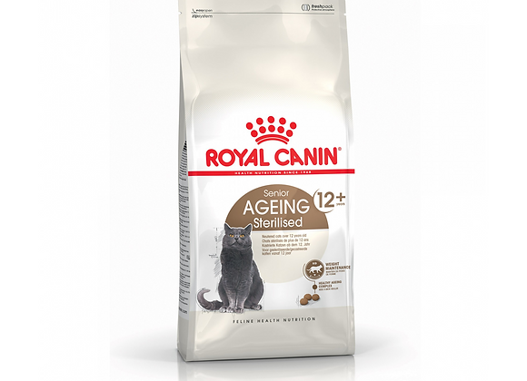 CROQUETTES CHAT ROYAL CANIN® SENIOR AGEING STERILISED 12+  - 2KG
