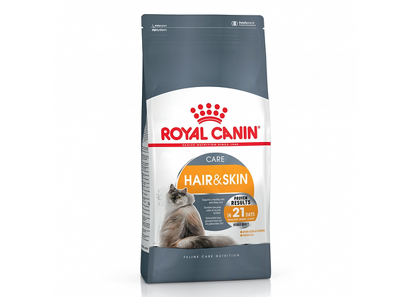 CROQUETTES CHAT ROYAL CANIN® HAIR & SKIN CARE  - 400G