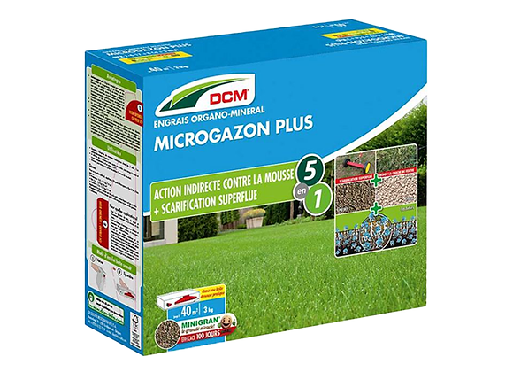 ENGRAIS MICRO GAZON PLUS DCM® - 3KG