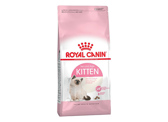 CROQUETTES CHATON ROYAL CANIN® KITTEN  SECOND AGE - 400G