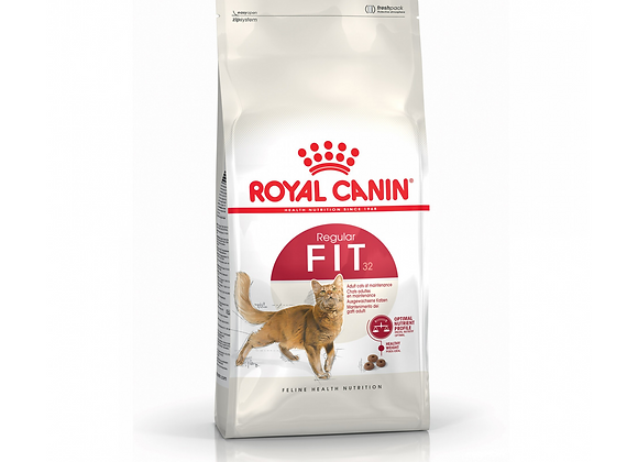 CROQUETTES CHAT ROYAL CANIN® REGULAR FIT 32 - 4KG