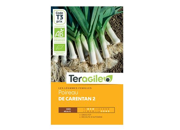 GRAINES POIREAU DE CARENTAN 2 BIO 3G TERAGILE®