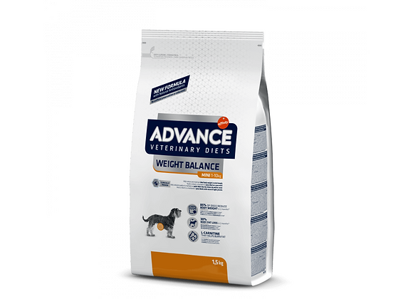 CROQUETTES CHIEN ADVANCE® VETERINARY DIETS - WEIGHT BALANCE - MINI - 1,5KG