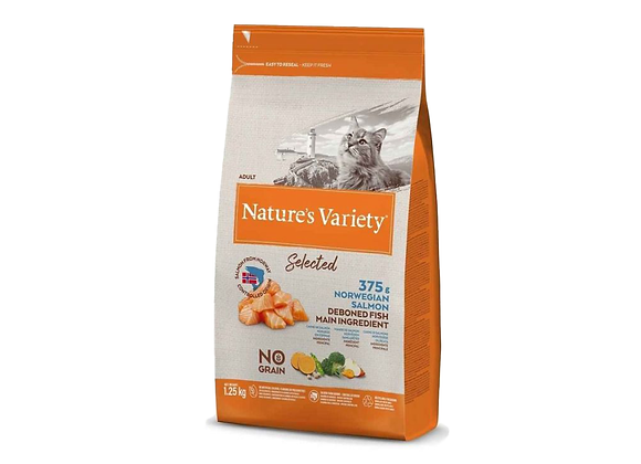 CROQUETTES CHAT NATURE'S VARIETY® ADULT SAUMON - 1.25KG