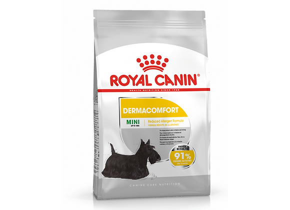 CROQUETTES CHIEN ROYAL CANIN® MINI DERMACOMFORT - 3KG