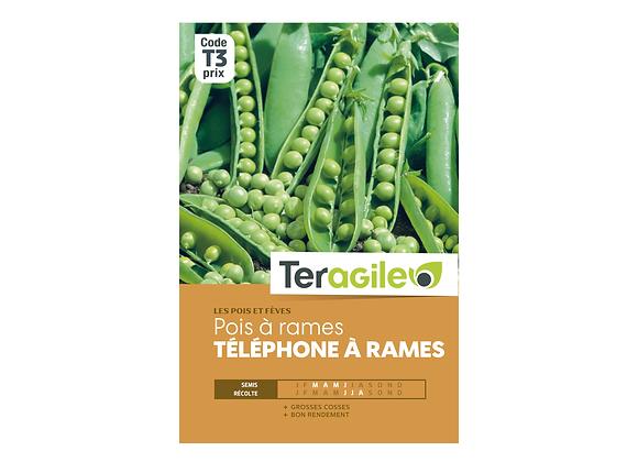 GRAINES POIS À RAMES 220G TÉLÉPHONE À RAMES TERAGILE®