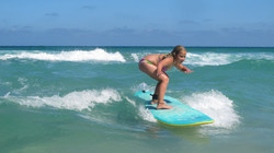 Aula de Surf em Floripa.