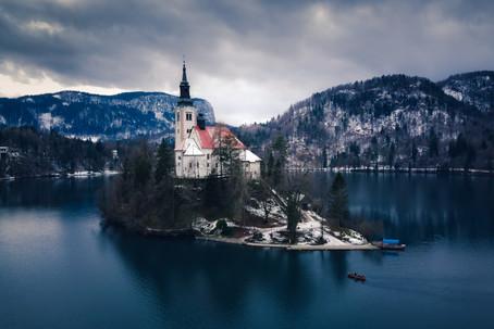 Lago di Bled, Dicembre 2019