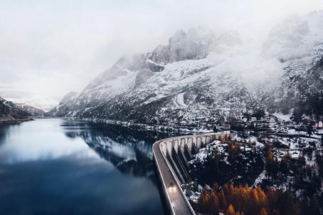 Lago Fedaia, Ottobre 2020