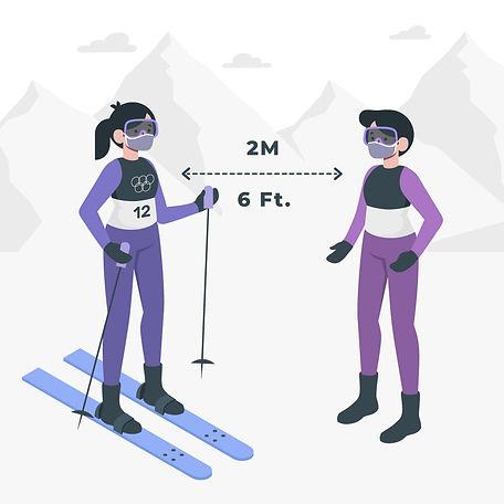COVID-19 Ski Resort