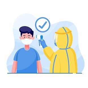 temperature screening COVID