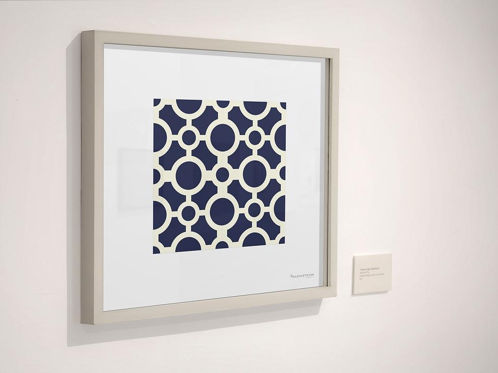 Circulos_art-gallery-single-square-frame