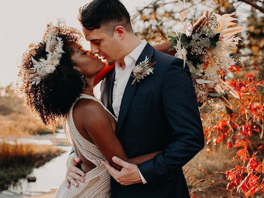3 Reasons to choose dried flowers for your wedding day hair accessory