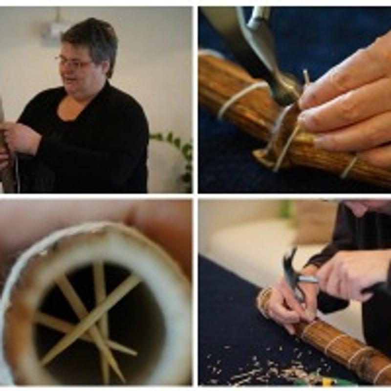 Workshop rainstick maken € 59,00 inclusief materialen, koffie, thee en lunch