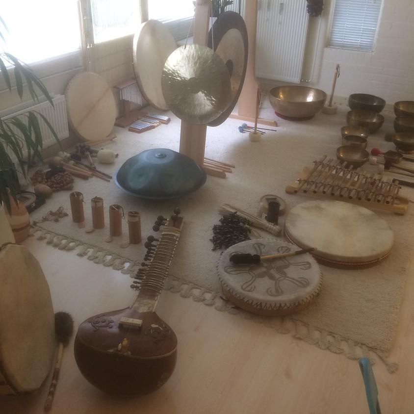 Inloop Klankdag traditionele opzet met Sound & Touch.