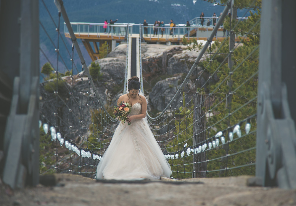 the best wedding aisle in the world Sea to Sky gondola