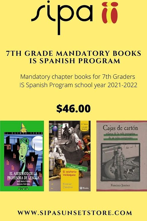 7th Grade Mandatory Books (3 books)